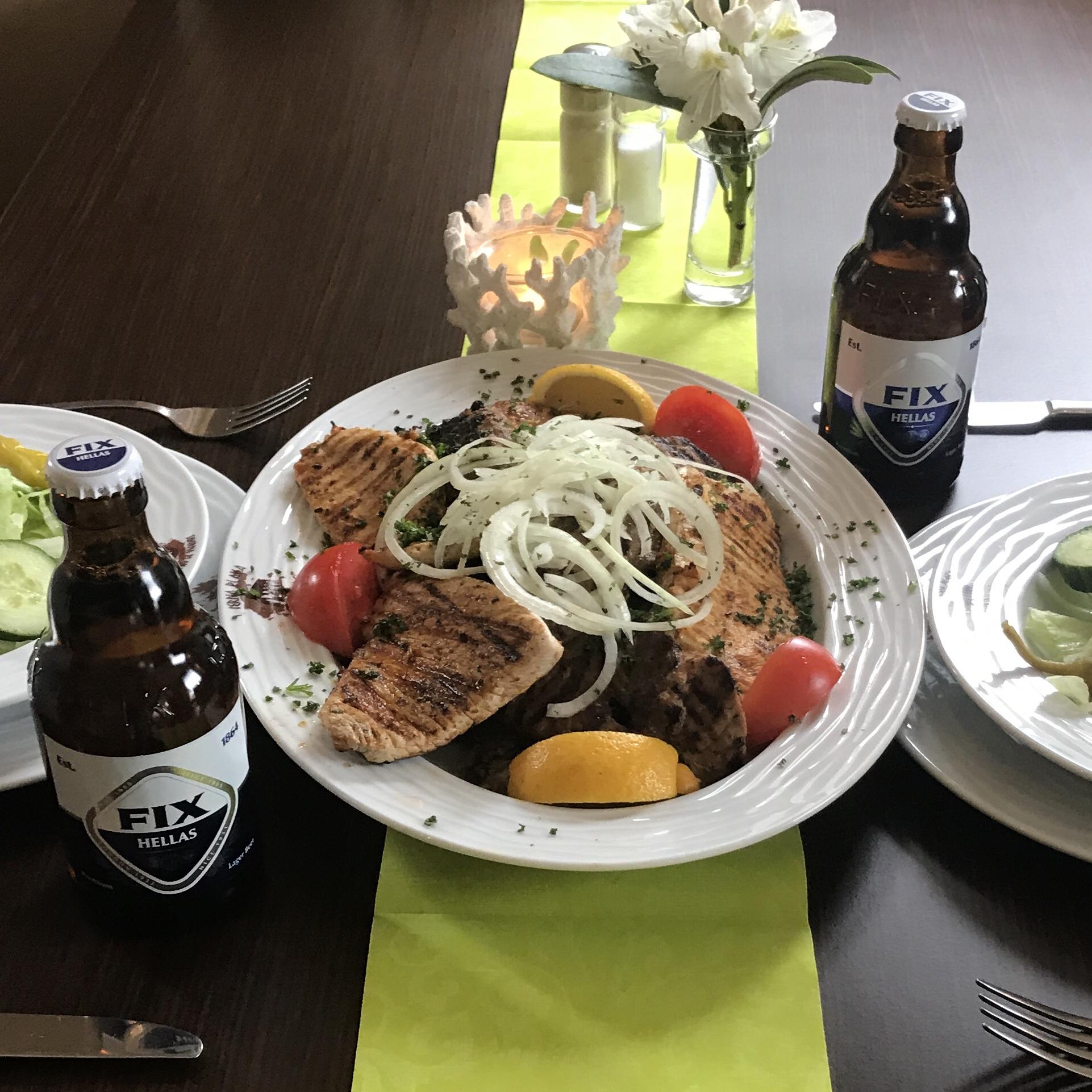 Grieche-Wedel-Taverna-Plaka-Pana-Dannys-Spezialplatte