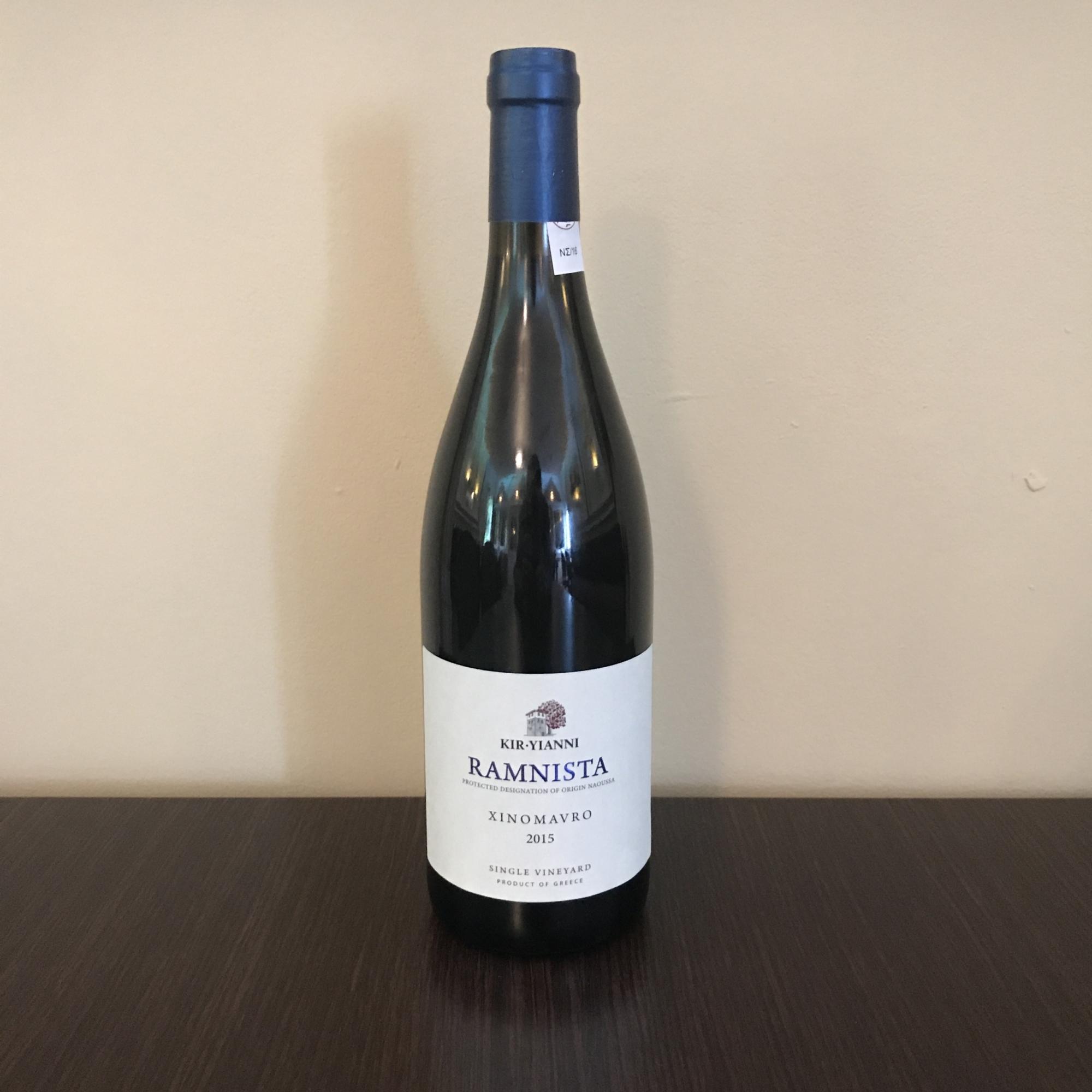 Grieche-Wedel-Taverna-Plaka-Wein-Ramnista-Vorderseite