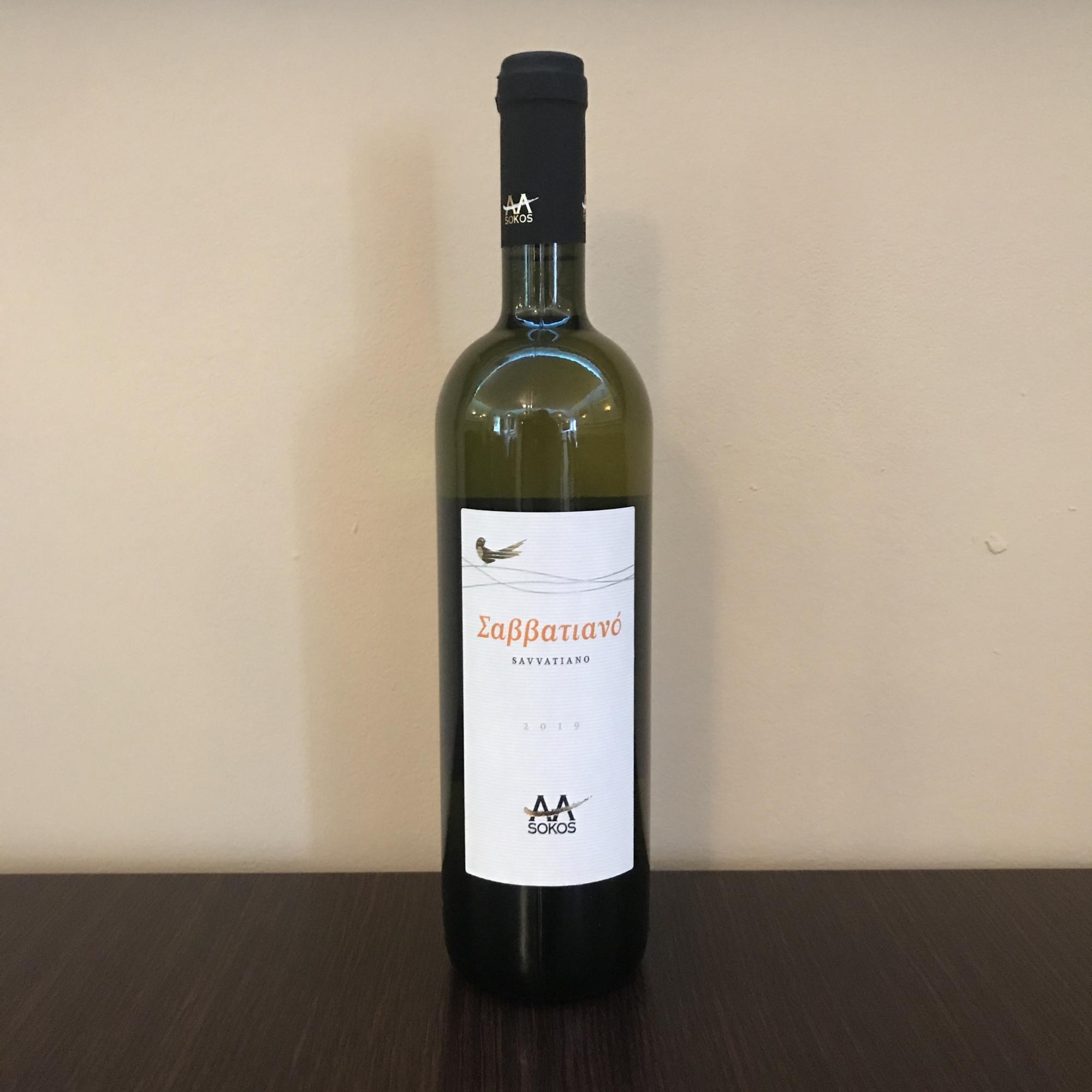 Grieche-Wedel-Taverna-Plaka-Wein-Savvatiano-Vorderseite
