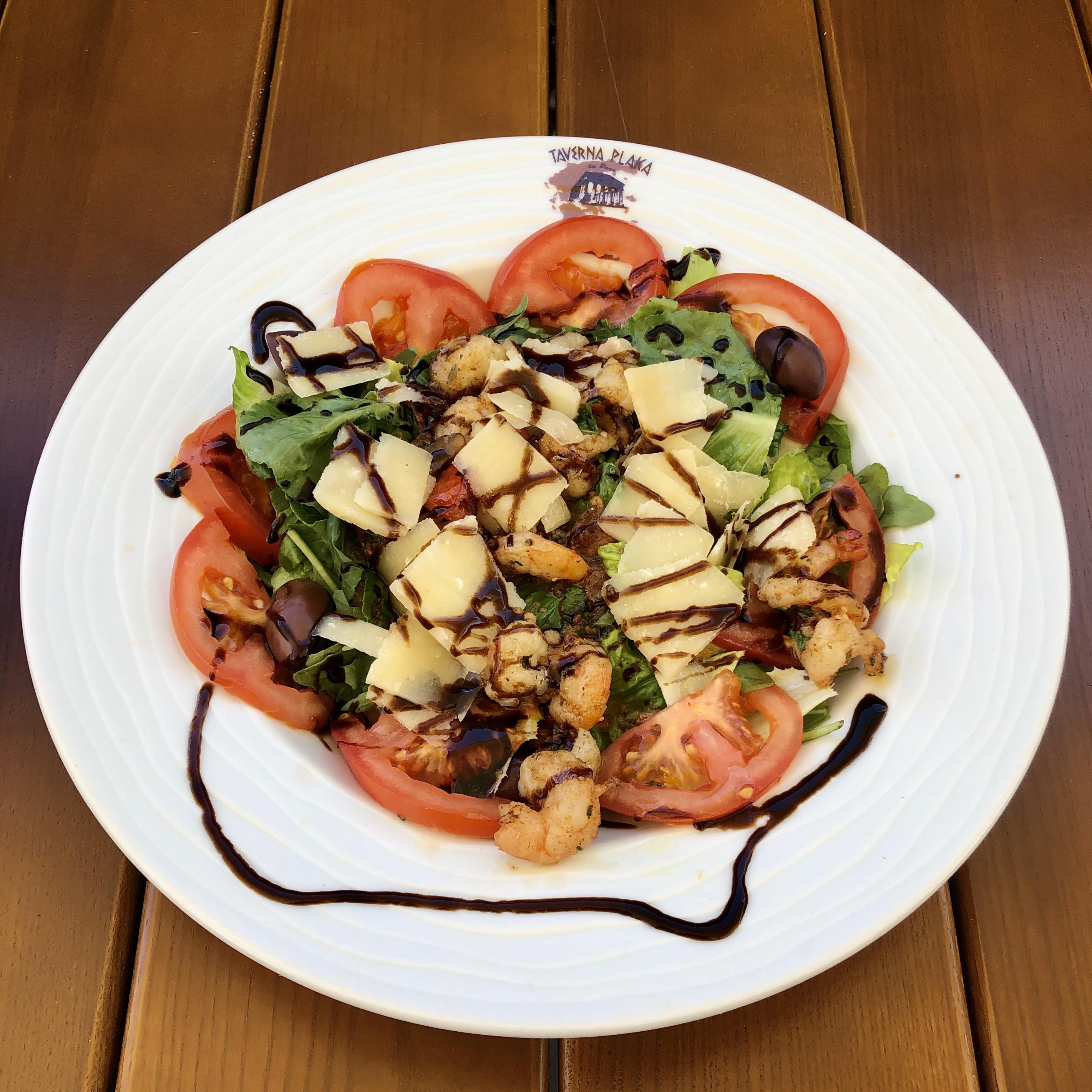 Grieche-Wedel-Taverna-Plaka-Athena Salat